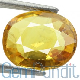 Yellow Sapphire Stone (Pukhraj) Prices Guide